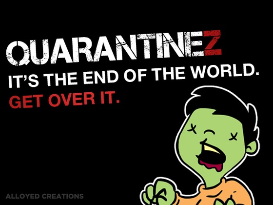 Quarantine monster at the end